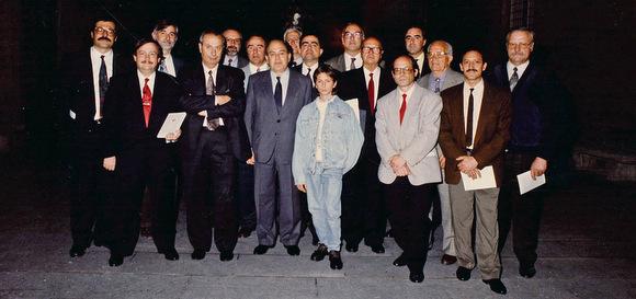 Castellers de Vilafranca creu de Sant Jordi 1993