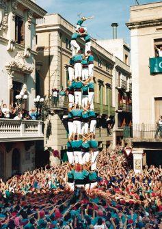 Castellers de Vilafranca - Quatre de nou carregat 4d9c sense folre