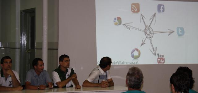 presentació web