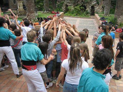 Un dia amb els Castellers de Vilafranca