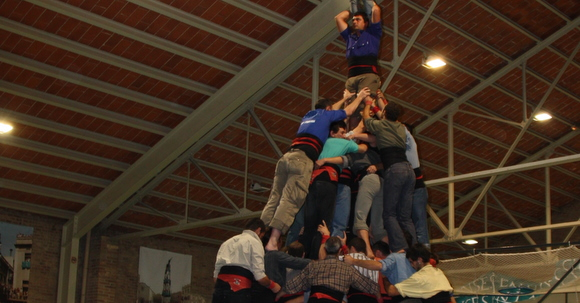 assaig castellers de vilafranca pre tots sants 2010