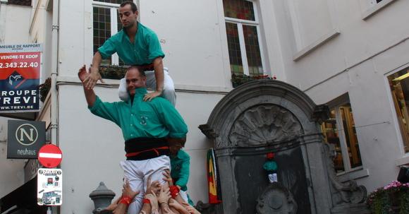 manneken pis castellers de vilafranca