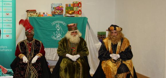 visita dels reis a Cal Figarot