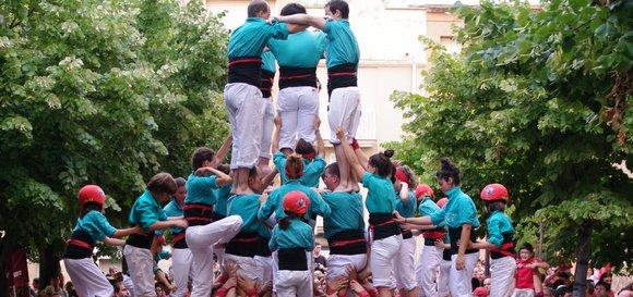 5d8 castellers de vilafranca a Esparreguera