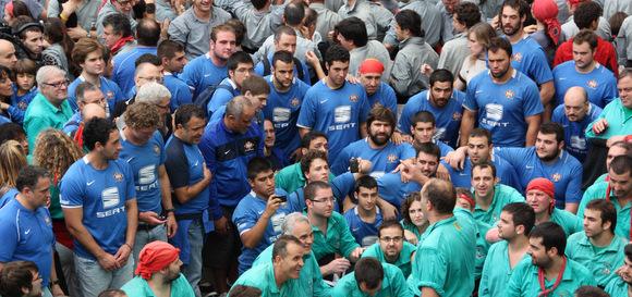 santboinana + castellers de vilafranca tots sants 2011