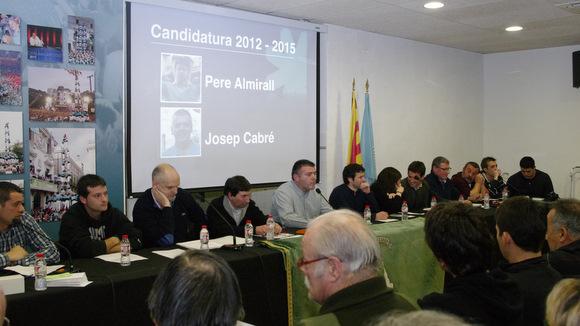 assemblea extraordinària 2012