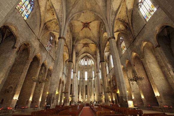 Barcelona Església de Santa Maria del Mar-PM 15932