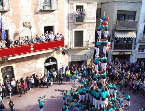Els Castellers de Vilafranca volen consolidar els castells de vuit a Martorell