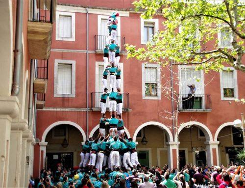 Els Castellers de Vilafranca descarreguen el primer 3d9f de la temporada