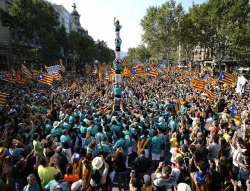 Els Castellers de Vilafranca participaran enla manifestació d'aquest diumenge a Barcelona convocada per les entitats sobiranistes