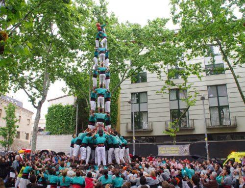 Els Castellers de Vilafranca volen portar el castell de 9 a Sants