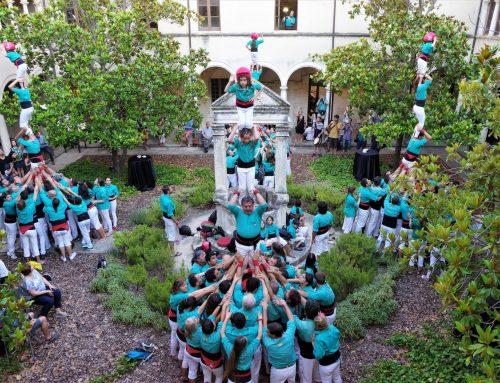 Els Castellers de Vilafranca volen convertir el Claustre de Sant Francesc i Can Cassanyes en plaça de nou