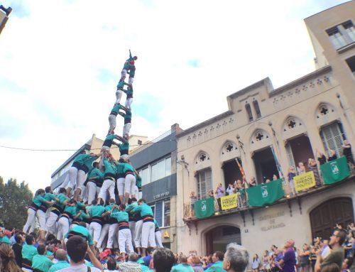 Els Castellers de Vilafranca descarreguen la Td9fm a Cal Figarot
