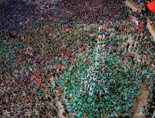 Els Castellers de Vilafranca, segons en el XXVII Concurs de Castells